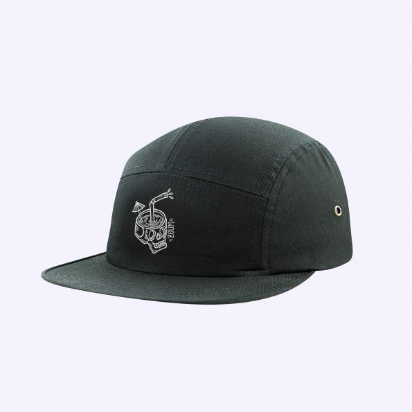 Sold out // Casquette panel «Cocktail Skull»