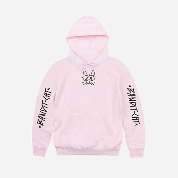 Classic pink hoodie