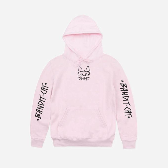 Classic pink hoodie