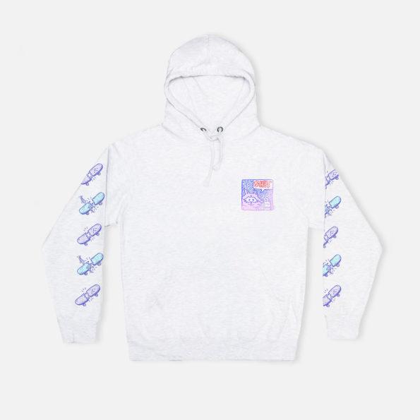 Shit grey hoodie