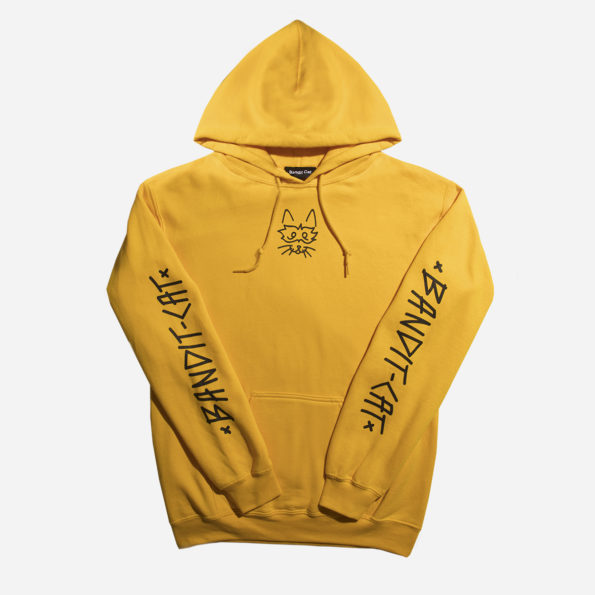 Classic gold hoodie