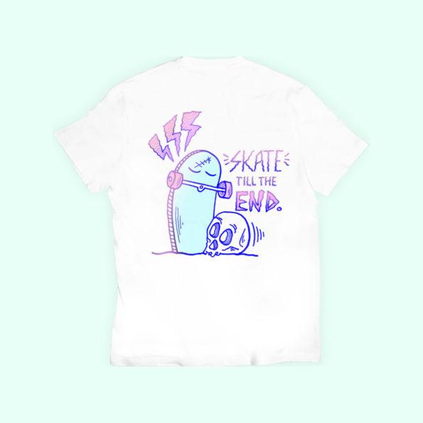 // T-shirt «Skate till I die»