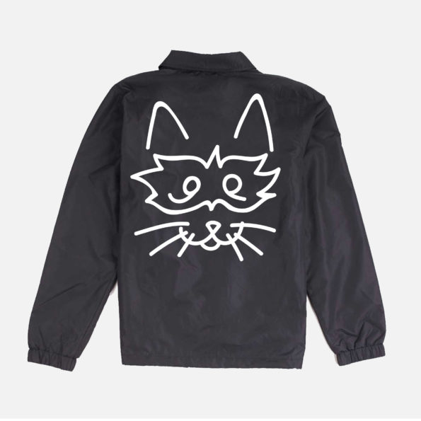 // Jacket noire «Bandit Cat»