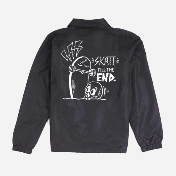 // Jacket noire «Skate till the end»