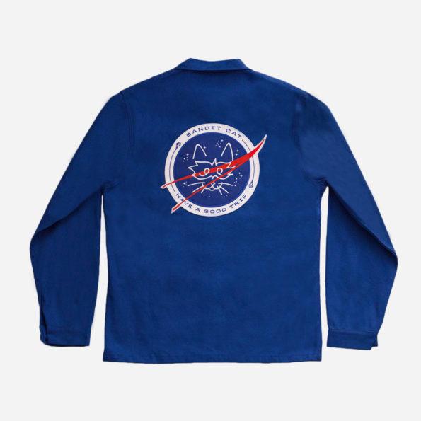 Spatial blue jacket