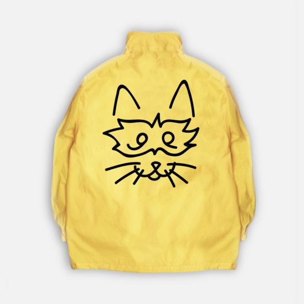 Classic zip jacket gold