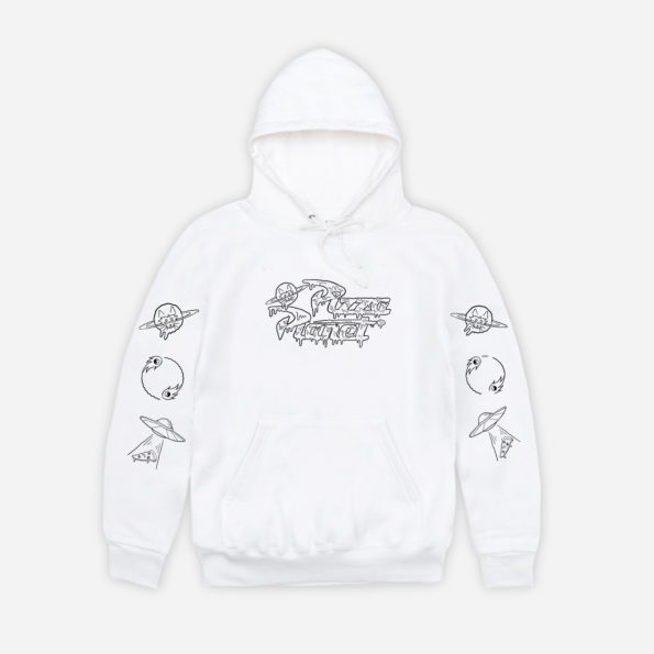 Pizza Planet white hoodie