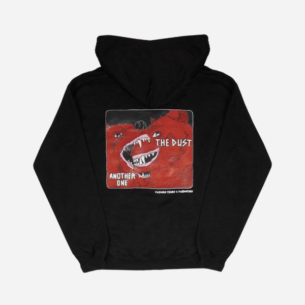 IRL MEME Yugnat999 X Thomas Tears Black dog hoodie