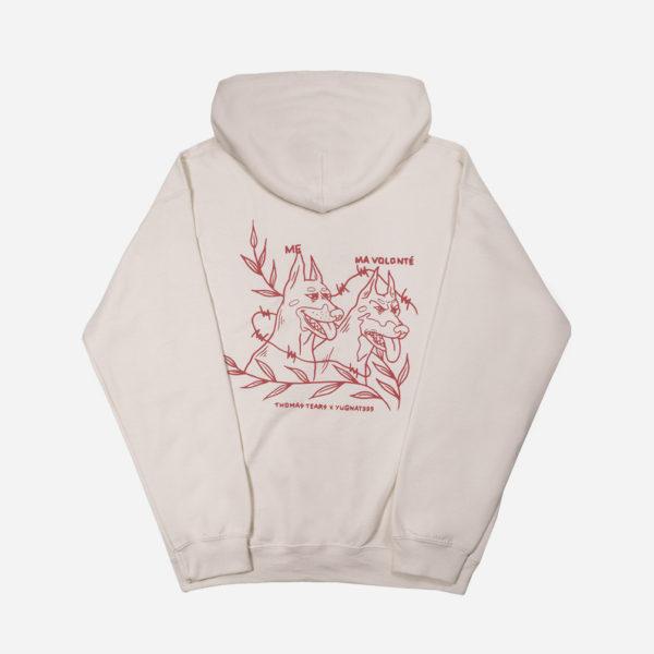 IRL MEME Yugnat999 X Thomas Tears sand dog hoodie