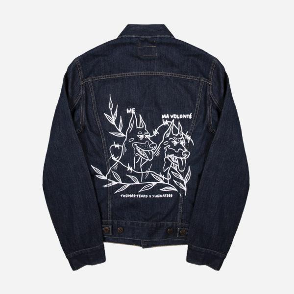 Blue Jean Jacket Yugnat999 x Thomas Tears