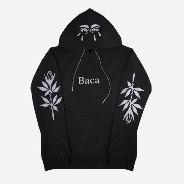 Reflective hoodie Viandebleue X Baca