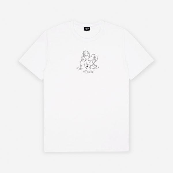 Dive with me t-shirt Baca X Thomas Tears