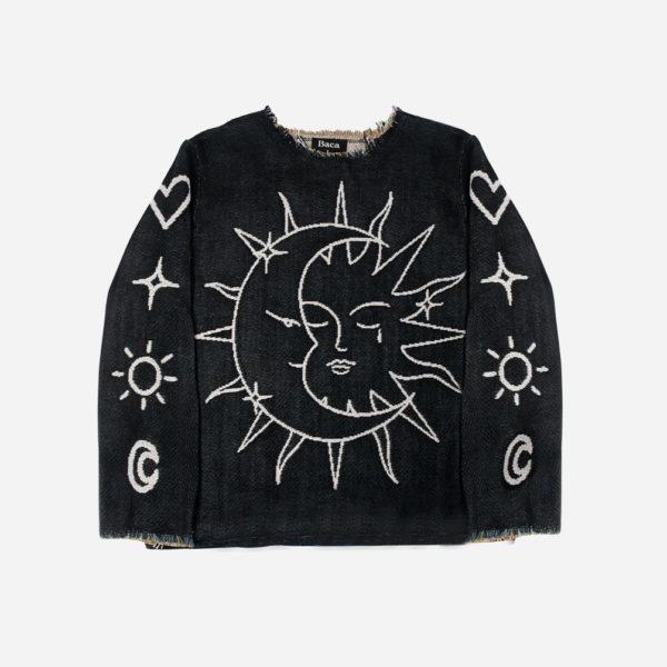 Sundance jacquard Woven Sweater